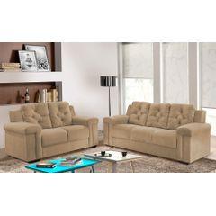Sofa-2-Lugares-Bege-em-Veludo-162m-Pelli---Ambiente