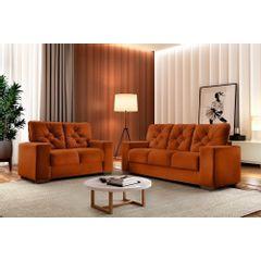 Sofa-3-Lugares-Ocre-em-Veludo-200m-Ieoh---Ambiente