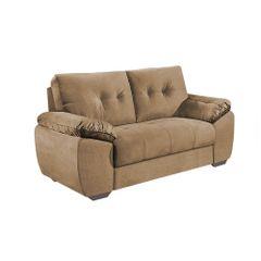 Sofa-2-Lugares-Bege-em-Veludo-162m-Mies