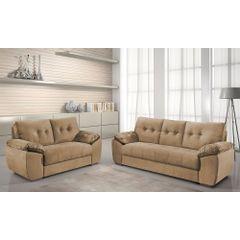 Sofa-2-Lugares-Bege-em-Veludo-162m-Mies---Ambiente