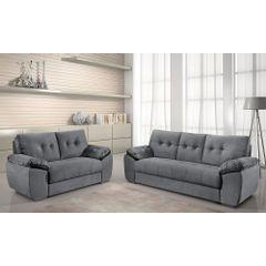 Sofa-2-Lugares-Cinza-em-Veludo-162m-Mies---Ambiente