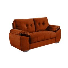 Sofa-2-Lugares-Ocre-em-Veludo-162m-Mies