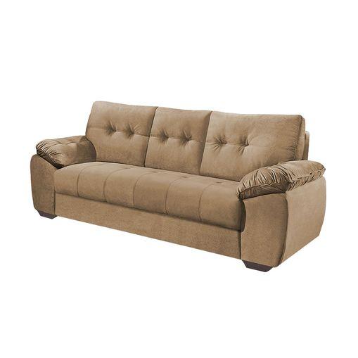 Sofa-3-Lugares-Bege-em-Veludo-212m-Mies