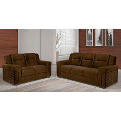Sofa-2-Lugares-Marrom-em-Veludo-150m-Fuller---Ambiente