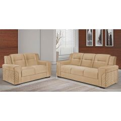 Sofa-2-Lugares-Bege-em-Veludo-150m-Fuller---Ambiente