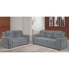 Sofa-2-Lugares-Cinza-em-Veludo-150m-Fuller---Ambiente