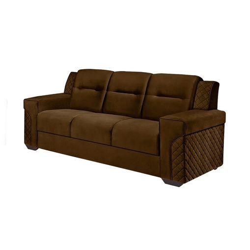 Sofa-3-Lugares-Marrom-em-Veludo-200m-Fuller