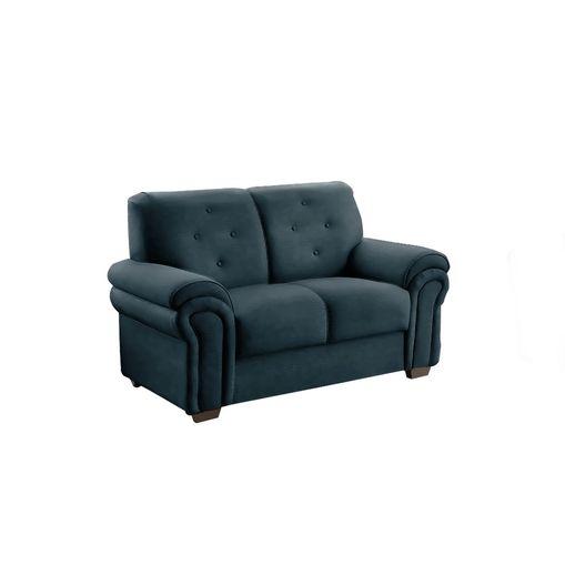 Sofa-2-Lugares-Azul-em-Veludo-147m-Ohtake