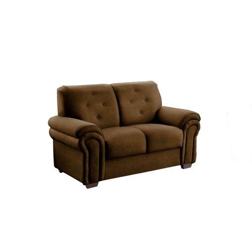 Sofa-2-Lugares-Marrom-em-Veludo-147m-Ohtake