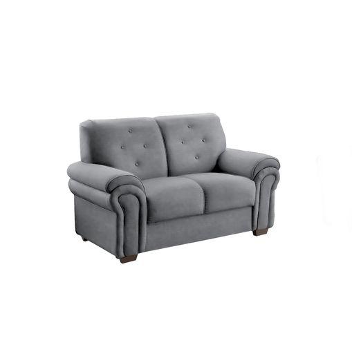 Sofa-2-Lugares-Cinza-em-Veludo-147m-Ohtake