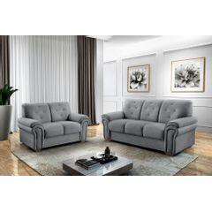 Sofa-2-Lugares-Cinza-em-Veludo-147m-Ohtake---Ambiente