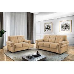 Sofa-3-Lugares-Bege-em-Veludo-193m-Ohtake---Ambiente