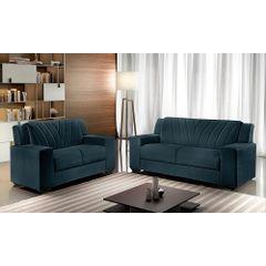 Sofa-3-Lugares-Azul-em-Veludo-191m-Gehry---Ambiente