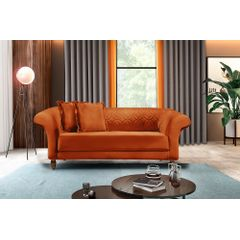 Sofa-2-Lugares-Ocre-em-Veludo-180m-Rolnik---Ambiente