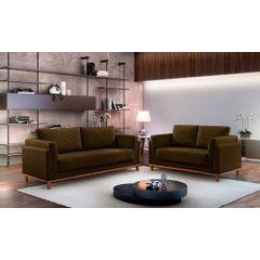 Sofa-2-Lugares-Marrom-em-Veludo-147m-Sassen---Ambiente