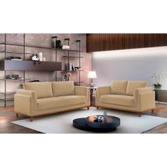 Sofa-2-Lugares-Bege-em-Veludo-147m-Sassen---Ambiente