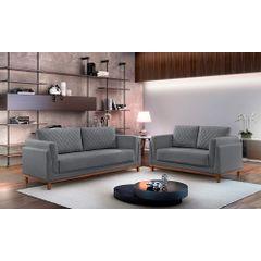 Sofa-2-Lugares-Cinza-em-Veludo-147m-Sassen---Ambiente