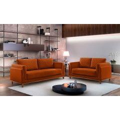 Sofa-3-Lugares-Ocre-em-Veludo-197m-Sassen---Ambiente