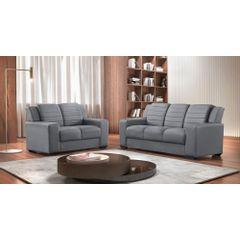 Sofa-3-Lugares-Cinza-em-Veludo-198m-Siza---Ambiente