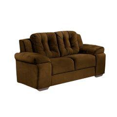 Sofa-2-Lugares-Marrom-em-Veludo-157m-Zumthor