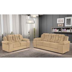 Sofa-2-Lugares-Bege-em-Veludo-157m-Zumthor---Ambiente