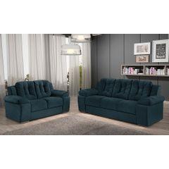 Sofa-3-Lugares-Azul-em-Veludo-207m-Zumthor---Ambiente