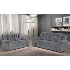 Sofa-3-Lugares-Cinza-em-Veludo-207m-Zumthor---Ambiente