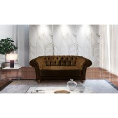 Sofa-2-Lugares-Marrom-em-Veludo-184m-Zaha---Ambiente