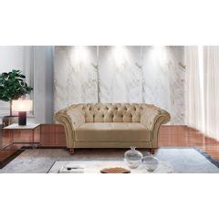 Sofa-2-Lugares-Bege-em-Veludo-184m-Zaha---Ambiente