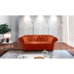 Sofa-2-Lugares-Ocre-em-Veludo-184m-Zaha---Ambiente