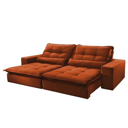 Sofa-Retratil-e-Reclinavel-3-Lugares-Ocre-210m-Nouvel