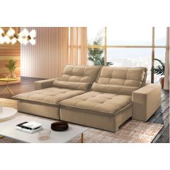 Sofa-Retratil-e-Reclinavel-3-Lugares-Bege-230m-Nouvel---Ambiente