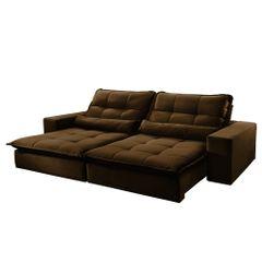 Sofa-Retratil-e-Reclinavel-4-Lugares-Marrom-270m-Nouvel