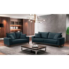 Sofa-2-Lugares-Azul-em-Veludo-156m-Diller---Ambiente