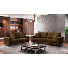 Sofa-2-Lugares-Marrom-em-Veludo-156m-Diller---Ambiente