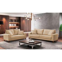 Sofa-2-Lugares-Bege-em-Veludo-156m-Diller---Ambiente