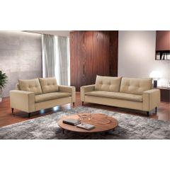 Sofa-2-Lugares-Bege-em-Veludo-156m-Meier---Ambiente