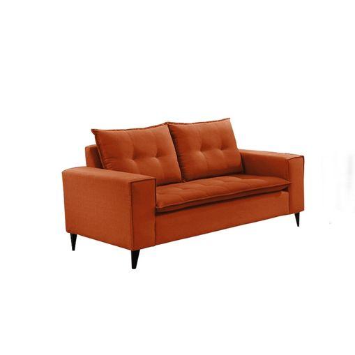 Sofa-2-Lugares-Ocre-em-Veludo-156m-Meier