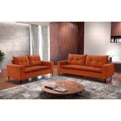 Sofa-2-Lugares-Ocre-em-Veludo-156m-Meier---Ambiente