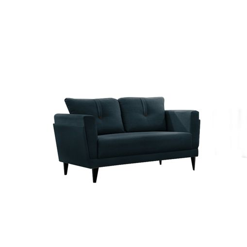 Sofa-2-Lugares-Azul-em-Veludo-139m-Bardi