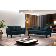 Sofa-3-Lugares-Azul-em-Veludo-189m-Bardi---Ambiente