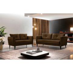 Sofa-3-Lugares-Marrom-em-Veludo-189m-Bardi---Ambiente