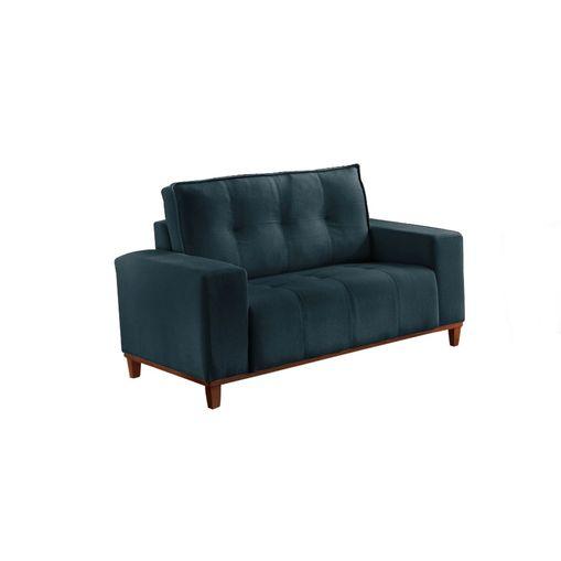 Sofa-2-Lugares-Azul-em-Veludo-140m-Duany