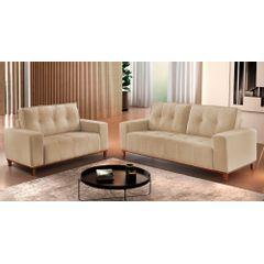Sofa-2-Lugares-Bege-em-Veludo-140m-Duany---Ambiente