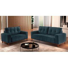 Sofa-3-Lugares-Azul-em-Veludo-190m-Duany---Ambiente