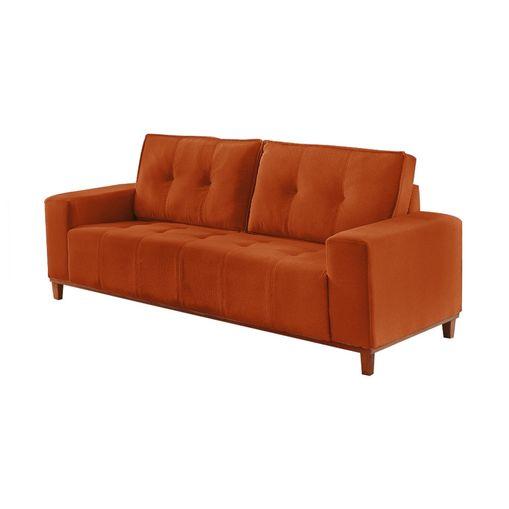Sofa-3-Lugares-Ocre-em-Veludo-190m-Duany