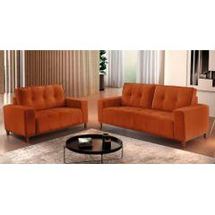 Sofa-3-Lugares-Ocre-em-Veludo-190m-Duany---Ambiente