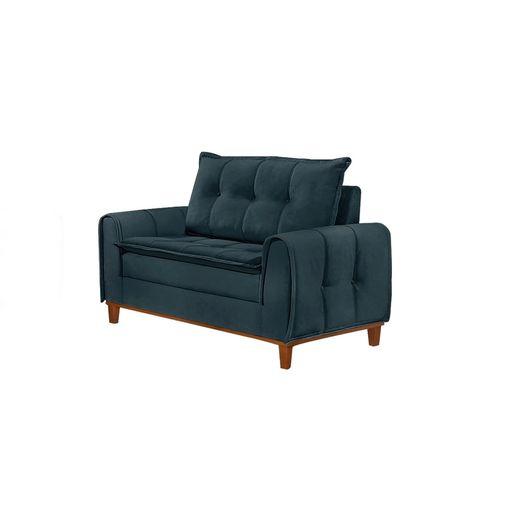 Sofa-2-Lugares-Azul-em-Veludo-122m-Kliass