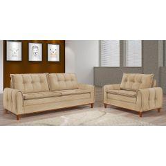 Sofa-3-Lugares-Bege-em-Veludo-212m-Kliass---Ambiente