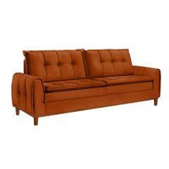 Sofa-3-Lugares-Ocre-em-Veludo-212m-Kliass
